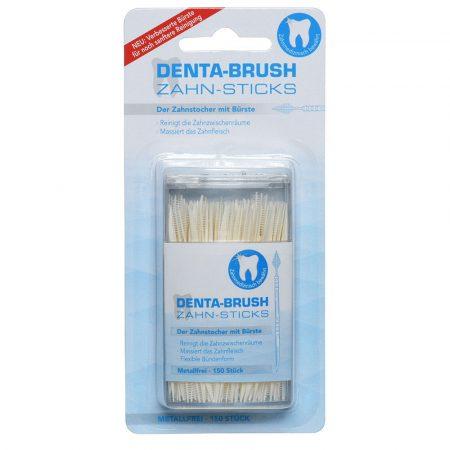 Davafitto Denta Brush higienski zobotrebci s ščetko, 150 kosov